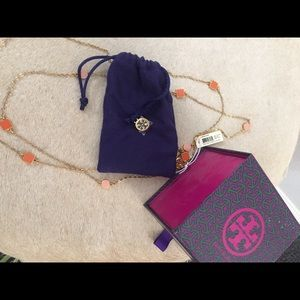Tory Burch Clemens Necklace. Brand new with tags